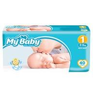 پوشک نوزادی مای بیبی 40 عدد