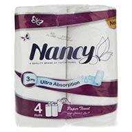 دستمال توالت 4 رول 3 لایه نانسی