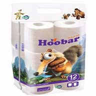 دستمال توالت  12  رول  4  لایه هوبار
