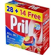 قرص ماشین ظرفشویی ۴۲ عددی پریل