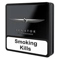 سیگار سناتور قوطی فلزی مشکی