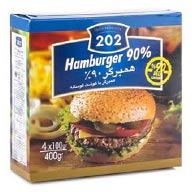 همبرگر %90  گوشت 202