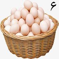 تخم مرغ ۶ عددی طلقی