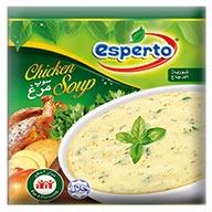 سوپ مرغ اسپرتو