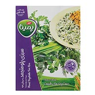 سبزی پلو منجمد پمینا کاله