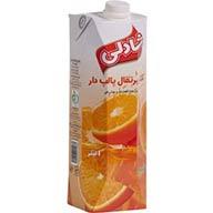 آبمیوه پرتقال یک لیتری شادلی