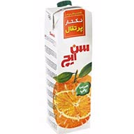 آبمیوه پرتقال یک لیتری سن ایچ