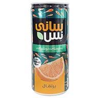 آبمیوه قوطی پرتقال سانی نس