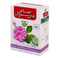 چای سبز و گل سرخ دو غزال