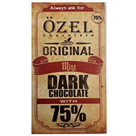 شکلات تخته ای  75%  اوزل