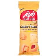 بادام زمینی روکش دار پنیری مزمز