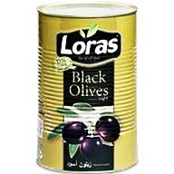 زیتون سیاه لوراس 2500 گرم